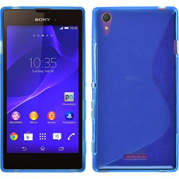 Silicone Case for Sony Xperia Style S-Style blue