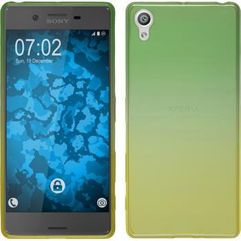 Silicone Case for Sony Xperia X Ombrè Design:03
