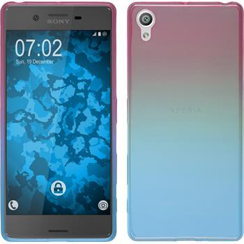 Silicone Case for Sony Xperia X Ombrè Design:06