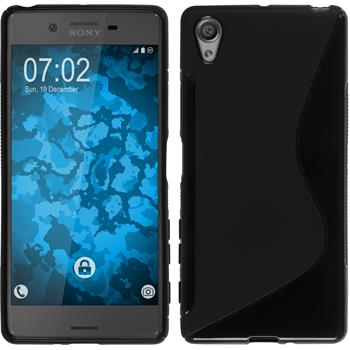 Silicone Case for Sony Xperia X S-Style black