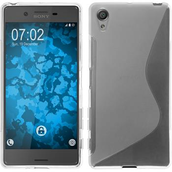 Silicone Case for Sony Xperia X S-Style transparent