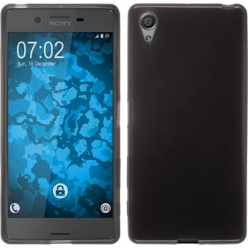 Silicone Case for Sony Xperia X transparent black
