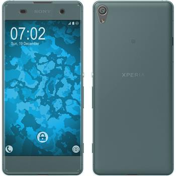 Silicone Case for Sony Xperia XA 360° Fullbody light blue