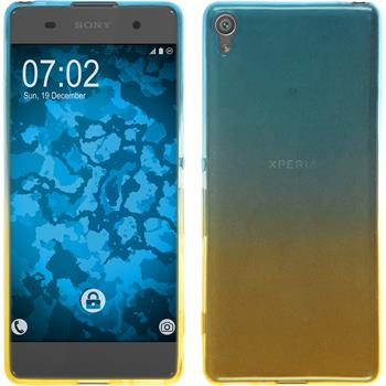 Silicone Case for Sony Xperia XA Ombrè Design:02