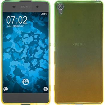 Silicone Case for Sony Xperia XA Ombrè Design:03