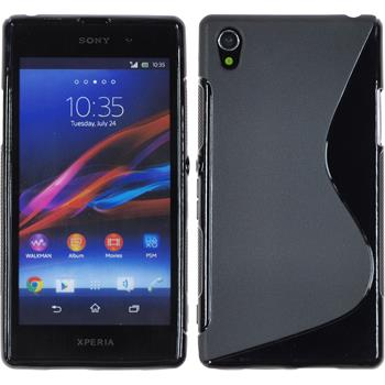 Silicone Case for Sony Xperia Z1 S-Style black