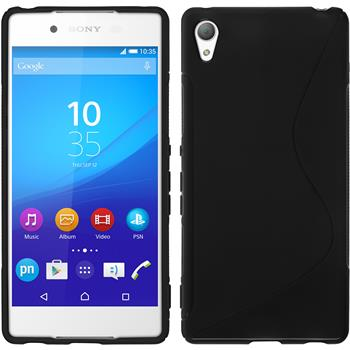 Silicone Case for Sony Xperia Z3+ S-Style black