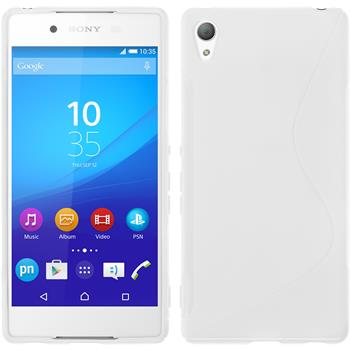 Silicone Case for Sony Xperia Z3+ S-Style white