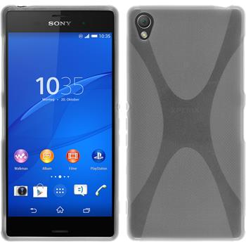 Silicone Case for Sony Xperia Z3 X-Style transparent