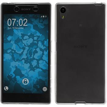Silicone Case for Sony Xperia Z5 360° Fullbody gray