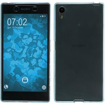 Silicone Case for Sony Xperia Z5 360° Fullbody light blue