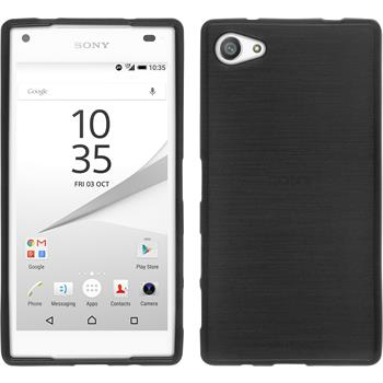 Silicone Case for Sony Xperia Z5 compact brushed silver