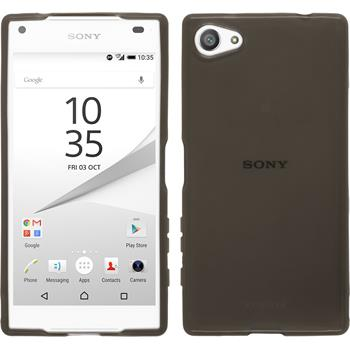 Silicone Case for Sony Xperia Z5 compact transparent black