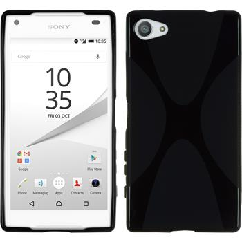 Silicone Case for Sony Xperia Z5 compact X-Style black