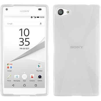 Silicone Case for Sony Xperia Z5 compact X-Style transparent