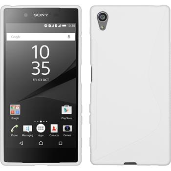 Silicone Case for Sony Xperia Z5 S-Style white
