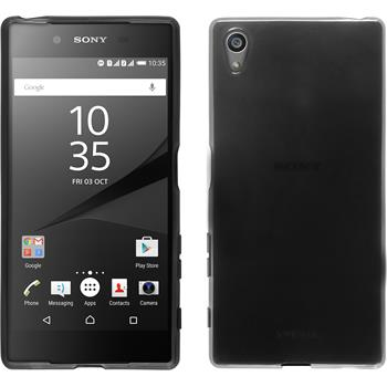 Silicone Case for Sony Xperia Z5 transparent black