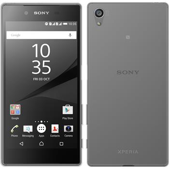 Silicone Case for Sony Xperia Z5 transparent Crystal Clear
