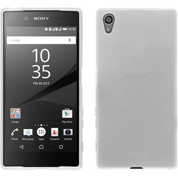 Silicone Case for Sony Xperia Z5 transparent white
