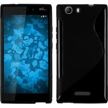 Silicone Case for Wiko Ridge 4G S-Style black