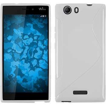 Silicone Case for Wiko Ridge 4G S-Style white