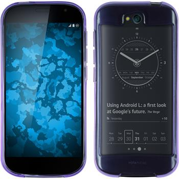 Silicone Case for Yota Yotaphone 2 transparent purple