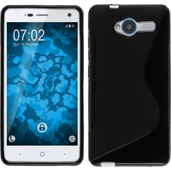 Silicone Case for ZTE Blade L3 S-Style black