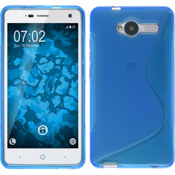 Silicone Case for ZTE Blade L3 S-Style blue
