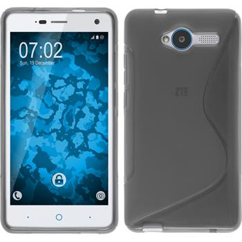 Silicone Case for ZTE Blade L3 S-Style gray