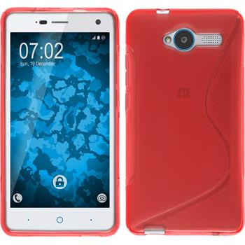 Silicone Case for ZTE Blade L3 S-Style red