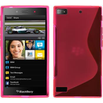Silikon Hülle Z3 S-Style pink