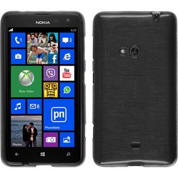 Silikon Hülle Lumia 625 brushed silber
