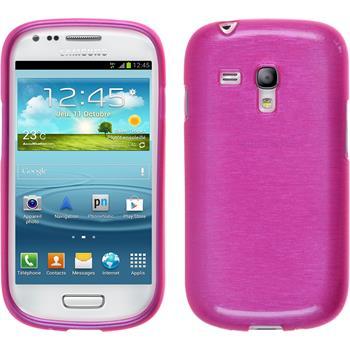Silikon Hülle Galaxy S3 Mini brushed pink