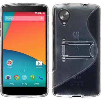 Silikon Hülle Nexus 5  grau