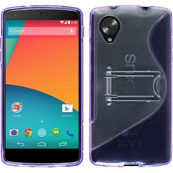 Silikon Hülle Nexus 5  lila