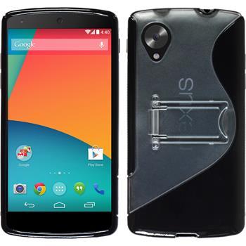Silikon Hülle Nexus 5  schwarz