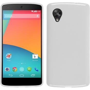 Silicone Case for Google Nexus 5 matt white