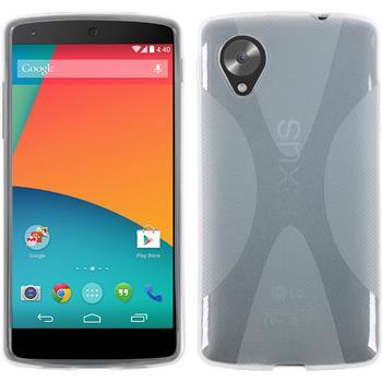 Silikon Hülle Nexus 5 X-Style clear