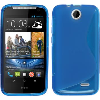 Silicone Case for HTC Desire 310 S-Style blue