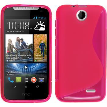 Silikon Hülle Desire 310 S-Style pink