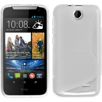 Silicone Case for HTC Desire 310 S-Style transparent