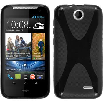 Silicone Case for HTC Desire 310 X-Style black