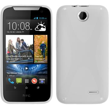 Silicone Case for HTC Desire 310 X-Style white