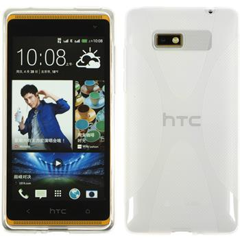 Silicone Case for HTC Desire 600 X-Style transparent