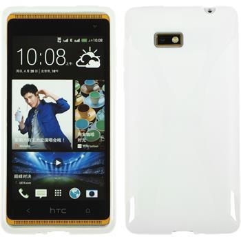 Silicone Case for HTC Desire 600 X-Style white