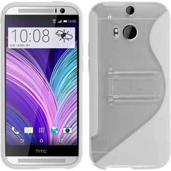 Silicone Case for HTC One M8  white