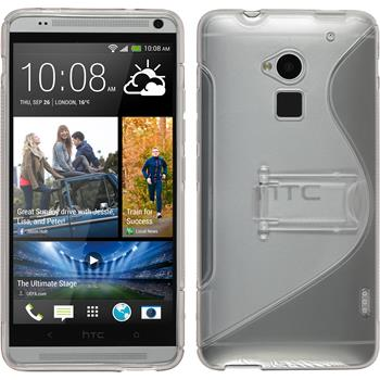 Silicone Case for HTC One Max  gray