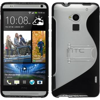 Silicone Case for HTC One Max  black