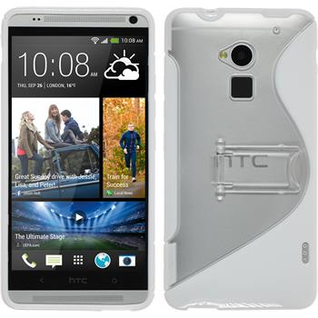 Silicone Case for HTC One Max  white