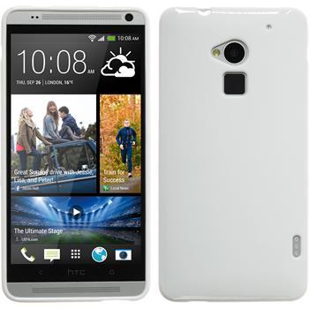 Silikonhülle für HTC One Max matt weiß